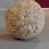 Bola de nubes y arroz inflado para modelar con fondant