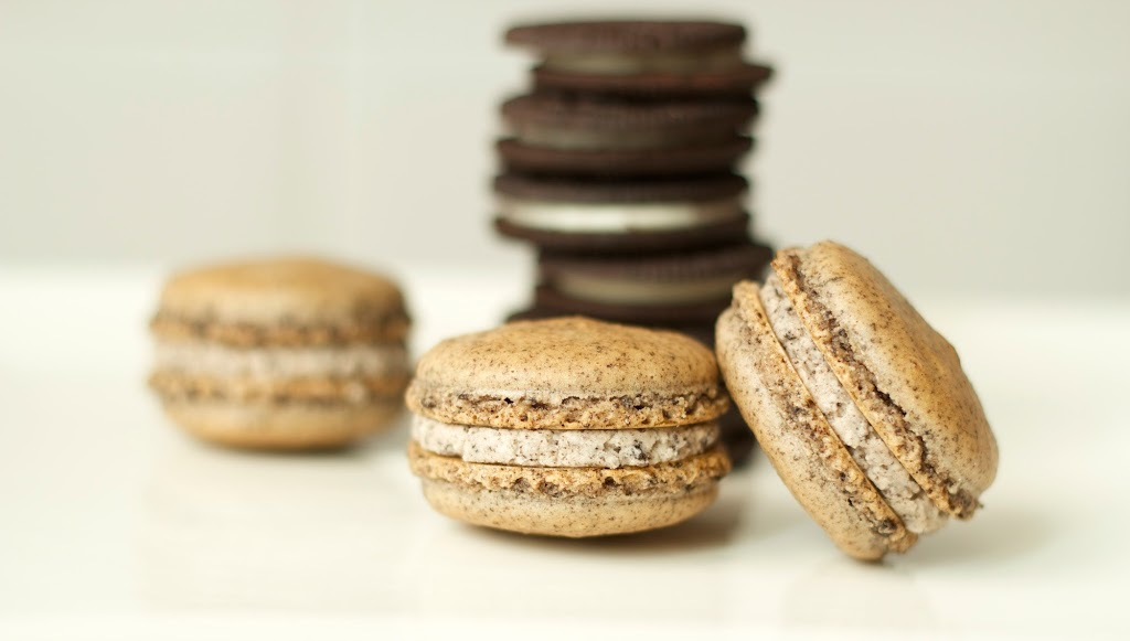 Macarons de galletas Oreo