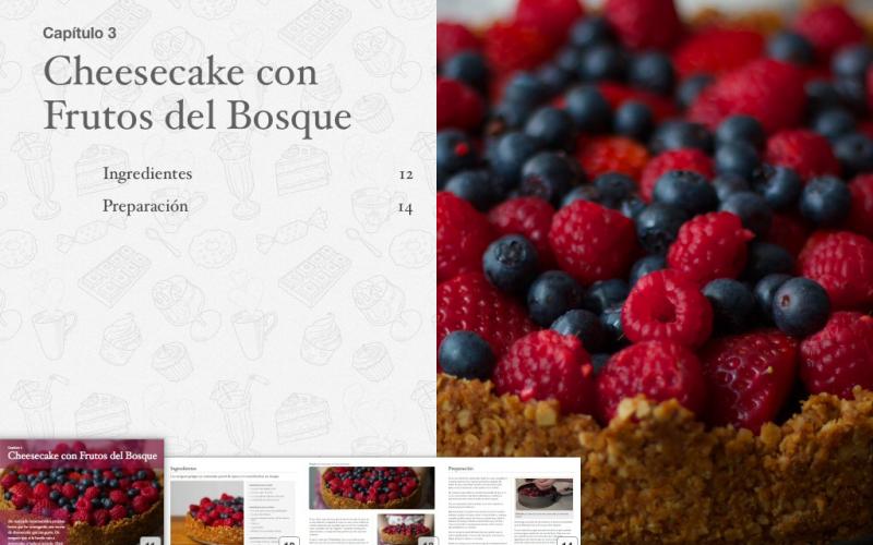 Os presento mi nuevo iBook interactivo: Mis 8 tartas preferidas