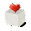 El terroncito de azúcar con amor