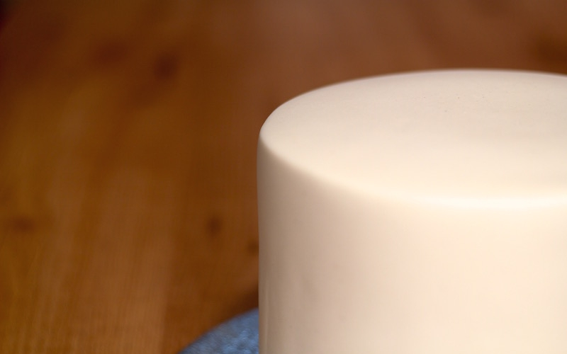 Técnica de los bordes perfectos para cubrir tartas de fondant