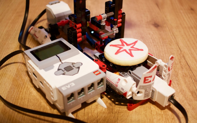 Decoración de Galletas con Impresora de Lego