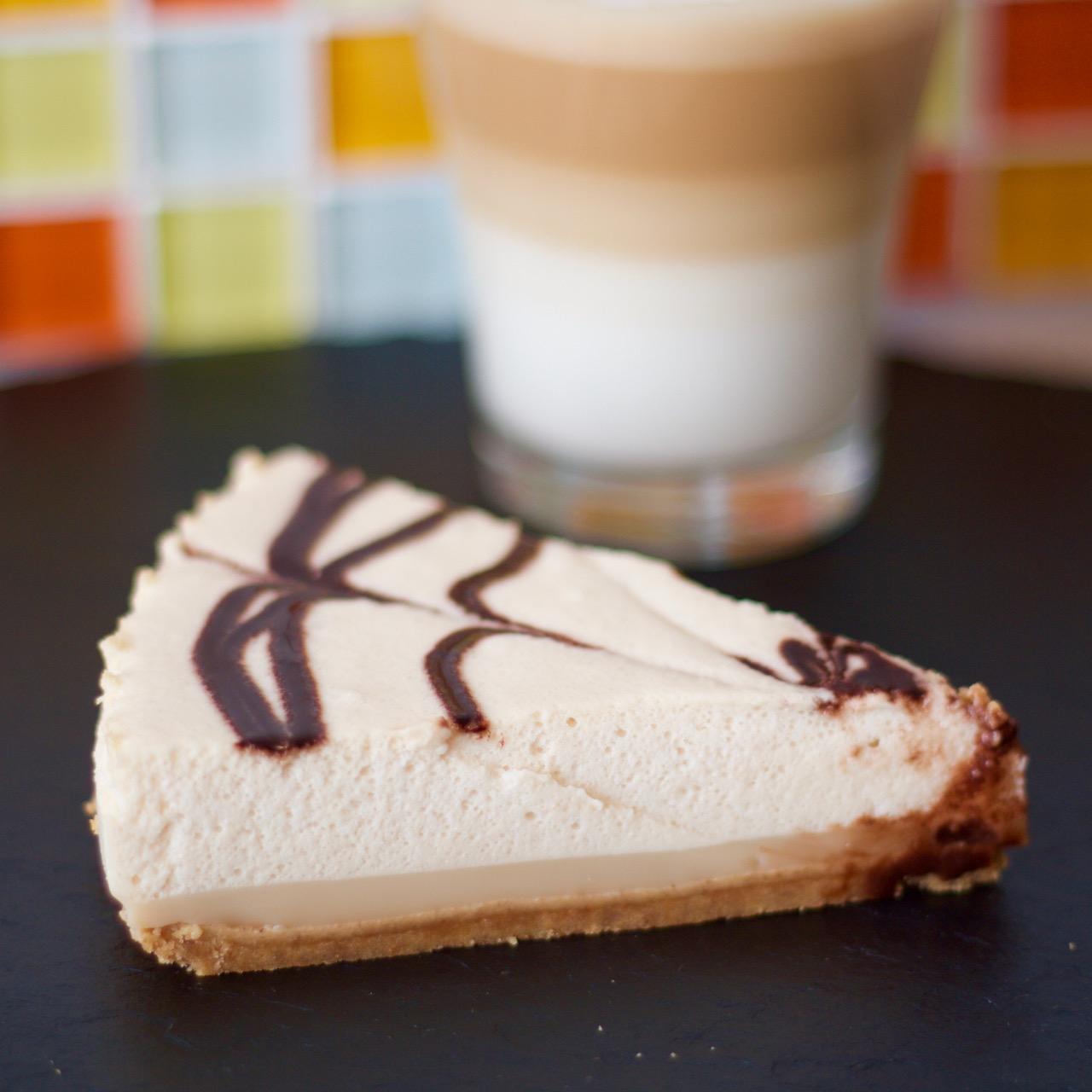 tarta porción Mousse Latte Macchiato Dolce Gusto