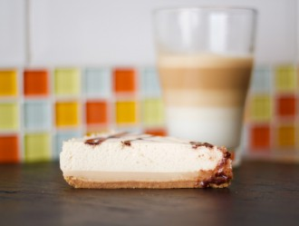 Tarta Mousse de Latte Macchiato de Vainilla NESCAFÉ Dolce Gusto